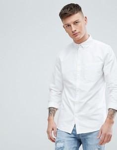 Белая оксфордская рубашка классического кроя New Look - Белый