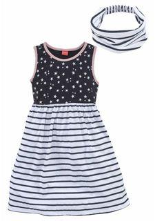 Комплект, 2 части: платье + лента для волос KIDOKI