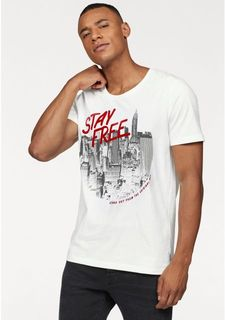 "Футболка ""INVERT TEE SS U-NECK"" JACK & JONES"