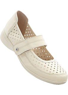 Туфли удобной формы (кремовый) Bonprix