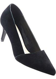 Туфли из замши (черный) Bonprix