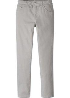 Брюки Slim Fit (светло-серый) Bonprix