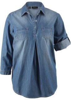 Блузка для беременных (голубой выбеленный) Bonprix
