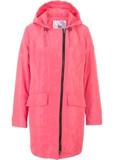 Куртка-парка для межсезонья на легкой подкладке (ярко-розовый) Bonprix