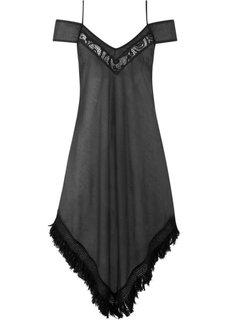 Платье для пляжа (черный) Bonprix