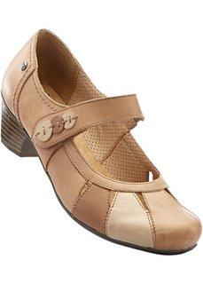 Туфли Мэри Джейн (верблюжий) Bonprix
