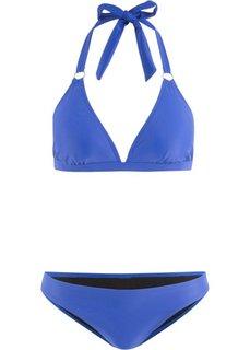 Купальный костюм бикини (2 изделия) (синий) Bonprix