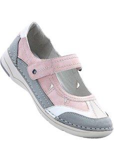 Удобные туфли (светло-серый/розовый) Bonprix