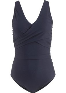 Формирующий купальник (темно-синий) Bonprix