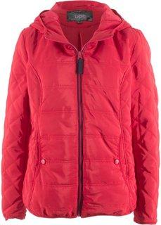 Куртка с капюшоном (красный) Bonprix