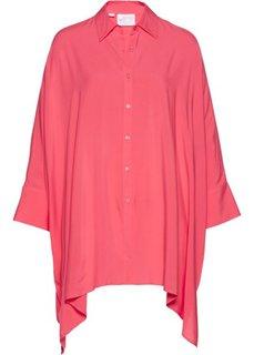 Туника в стиле оверсайз (ярко-розовый) Bonprix