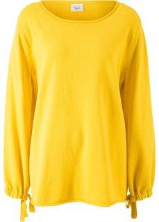Пуловер вязаный (желтый) Bonprix