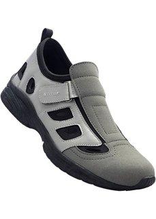 Туфли (серый/черный) Bonprix