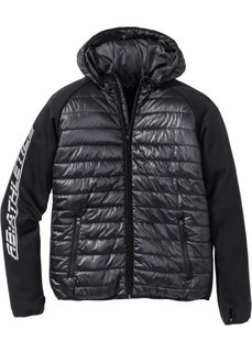 Функциональная спортивная куртка Regular Fit (черный/черный) Bonprix