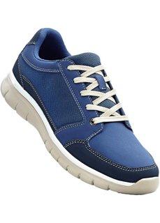 Туфли на шнуровке (синий) Bonprix
