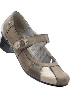 Туфли Мэри Джейн (серый) Bonprix