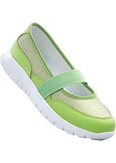 Балетки (зеленый) Bonprix