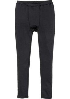 Функциональные спортивные брюки (черный) Bonprix
