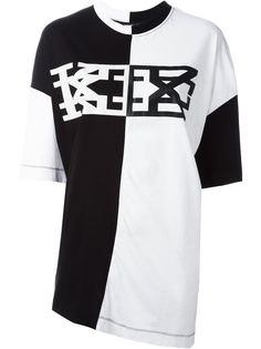 футболка с принтом  KTZ