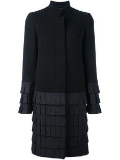 многослойное пальто средней длины Capucci