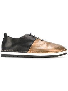 двухцветные туфли-кеды  Marsèll
