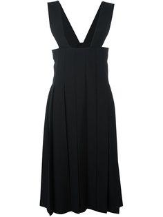 плиссированное-платье-комбинезон Comme Des Garçons