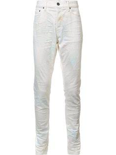 джинсы кроя слим с эффектом помятости John Elliott