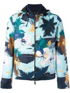 двусторонняя куртка с тропическим узором Valentino