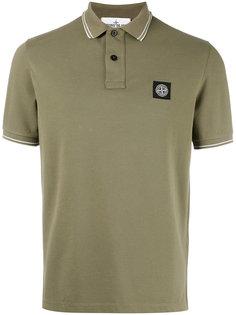 рубашка-поло с нашивкой логотипа Stone Island