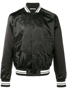 куртка-бомбер с пантерой Valentino