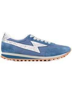 кроссовки с контрастными шнурками  Marc Jacobs