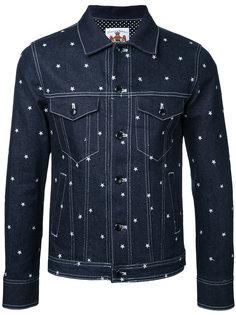 джинсовая куртка со звездами Education From Youngmachines