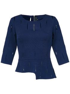 cut out blouse Gloria Coelho