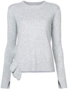 асимметричный свитер с оборкой  Derek Lam 10 Crosby