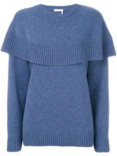 """свитер кроя """"кейп"""" Chloé"""