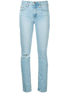 джинсы True Jean Ankle Remixed Nobody Denim
