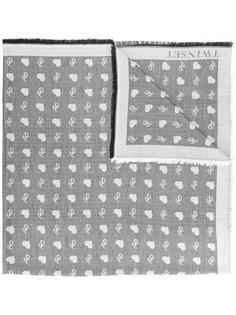 шарф с логотипом Twin-Set