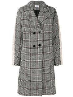 свободное пальто prince of wales Carven