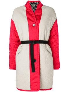 стеганое пальто с поясом  Isabel Marant Étoile