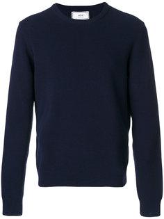 фактурный свитер с круглым вырезом Ami Alexandre Mattiussi