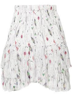юбка с принтом и оборками  Isabel Marant Étoile