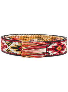 плетеный ремень с бахромой Isabel Marant