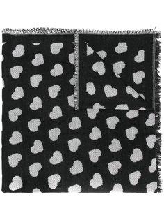шарф с сердцами Twin-Set