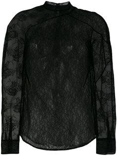 кружевная блузка  Christopher Kane