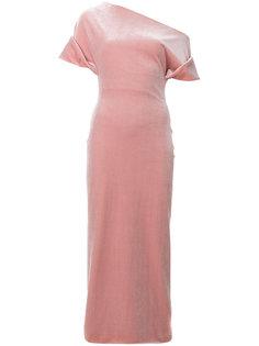 асимметричное платье миди  Christopher Kane