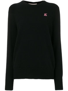 свитер с круглым вырезом  Christopher Kane