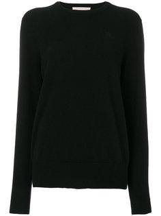 свитер с круглым вырезом и вышивкой K Christopher Kane