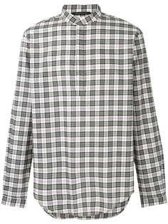 клетчатая рубашка Christopher Kane