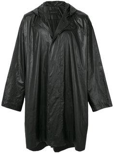 пальто свободного кроя с капюшоном Christopher Kane