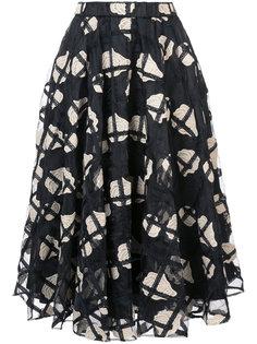 пышная юбка с цветочным принтом Co